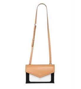 Givenchy Beige/Black/White Duetto Crossbody Bag