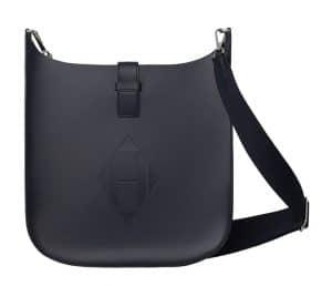 Hermes Bleu Indigo Evelyne Sellier 33 Bag