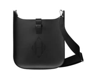 Hermes Noir Evelyne Sellier 29 Bag