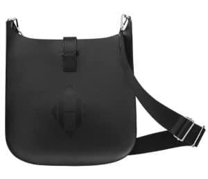 Hermes Noir Indigo Evelyne Sellier 33 Bag