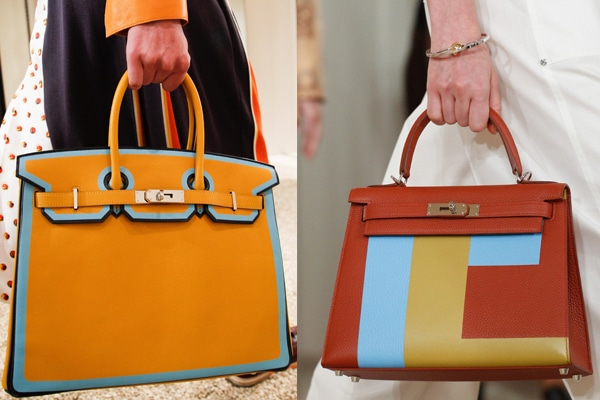 4ea560e9b3c3 Hermes Resort 2018 Runway Bag Collection Includes Birkin with Piping ...