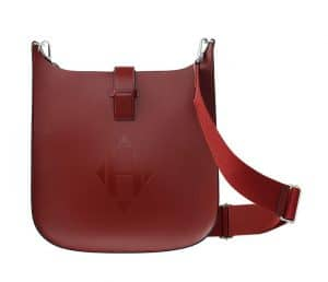 Hermes Rouge H Evelyne Sellier 29 Bag