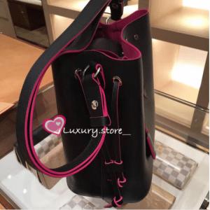 Louis Vuitton Noir Lockme Bucket Bag 4