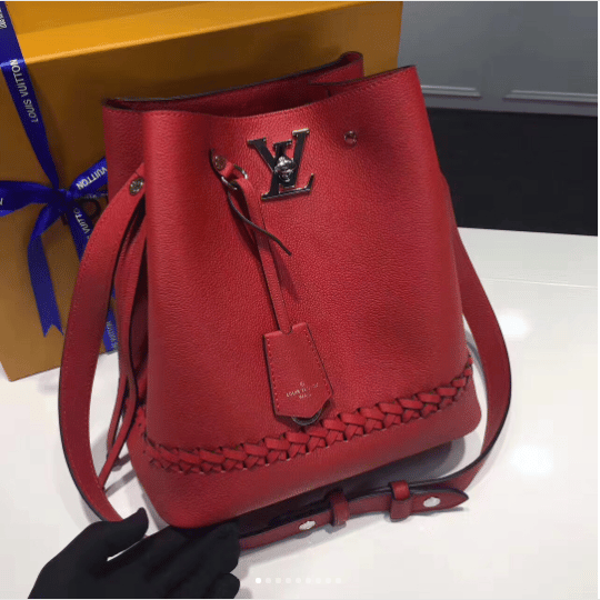 Louis Vuitton Lockme Bucket Bag Reference Guide Spotted