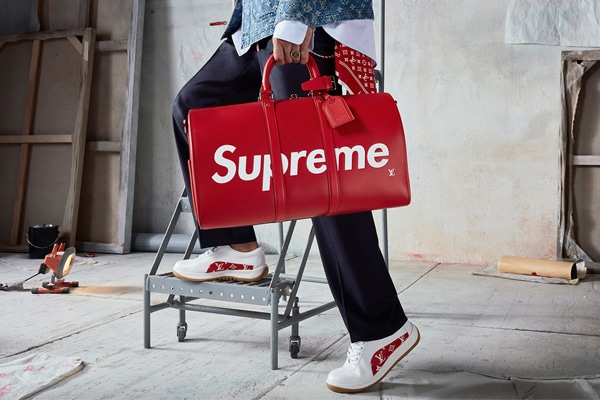 7213ea854fb Louis Vuitton x Supreme Collection Is Now Available in Pop-Up Stores ...
