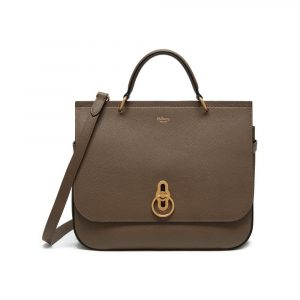 Mulberry Clay Small Classic Grain Amberley Bag