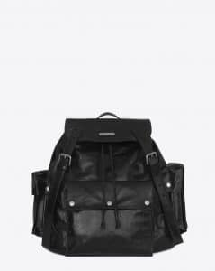 Saint Laurent Black Noe Backpack Bag