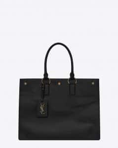 Saint Laurent Black Noe Cabas Bag
