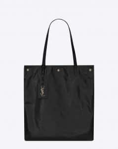 Saint Laurent Black Noe Flat Shopping Bag