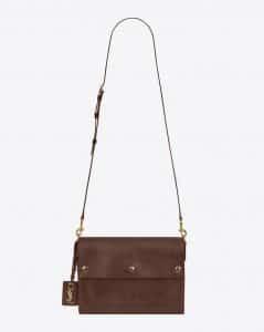 Saint Laurent Cognac Noe Crossbody Bag