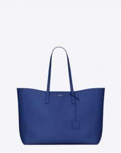 Saint Laurent Royal Blue Large Shopping Bag