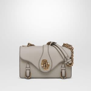Bottega Veneta Cement Calf City Knot Bag