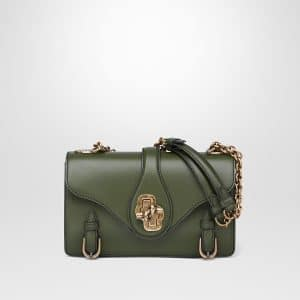 Bottega Veneta Moss Calf City Knot Bag