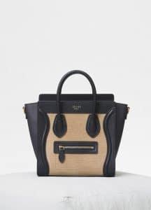 Celine Beige Lizard Nano Luggage Bag