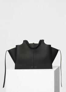 Celine Black Medium Tri-Fold Bag