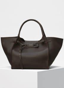 Celine Dark Burgundy Medium Big Bag