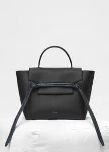 Celine Dark Sea Bi-colour Braid Micro Belt Bag
