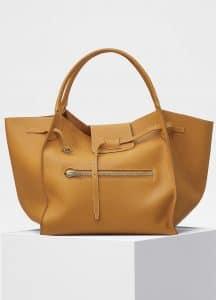 Celine Dark Yellow Large Big Bag