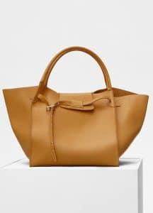 Celine Dark Yellow Medium Big Bag