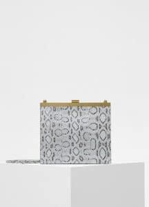 Celine Frost Viper Mini Clasp Bag