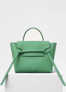 Celine Pop Green Micro Belt Bag