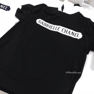 Chanel Black/White Gabrielle Chanel T-Shirt