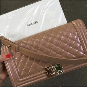 Chanel Iridescent Calfskin Boy Bag 2