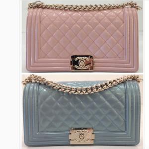 Chanel Iridescent Calfskin Boy Bag
