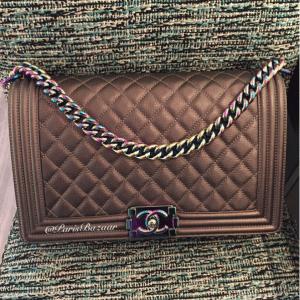 Chanel Iridescent Hardware Boy Bag 2