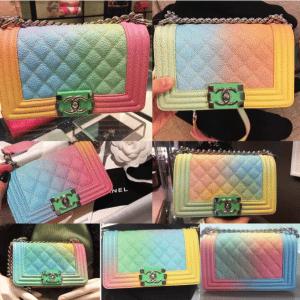 Chanel Rainbow Boy Bag 2