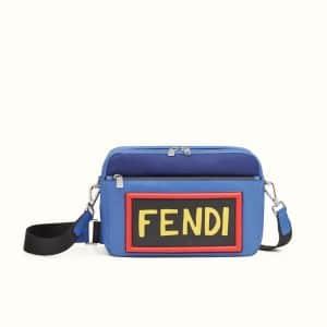 Fendi Blue Vocabulary Camera Bag