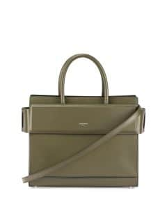 Givenchy Army Green Small Horizon Bag