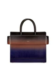 Givenchy Black/Blue Gradient Spray Small Horizon Bag