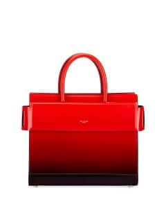 Givenchy Black/Red Gradient Spray Small Horizon Bag