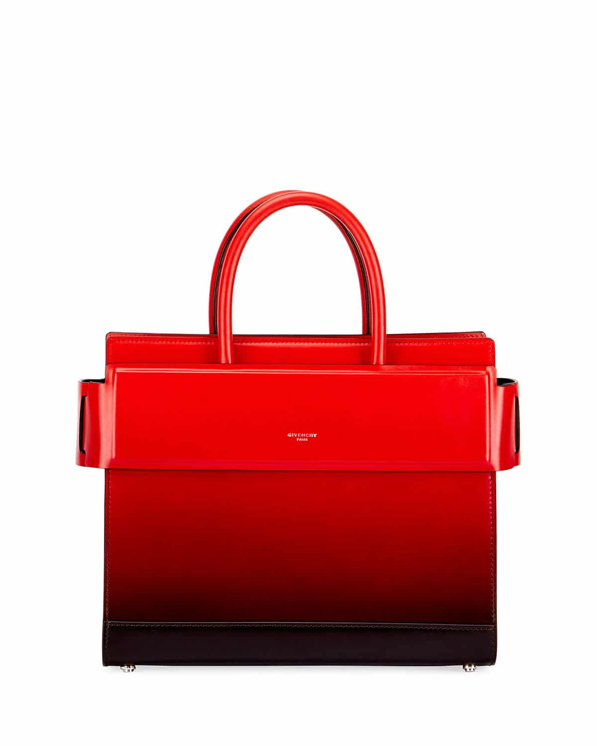 cca6ca64ff Givenchy Black Red Gradient Spray Small Horizon Bag