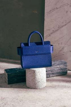 Givenchy Blue Small Horizon Bag