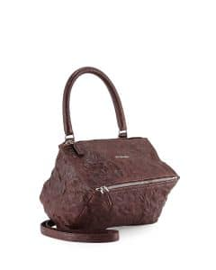 Givenchy Maroon Small Pandora Pepe Bag