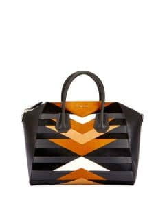 Givenchy Multicolor Geometric Pattern Medium Antigona Bag
