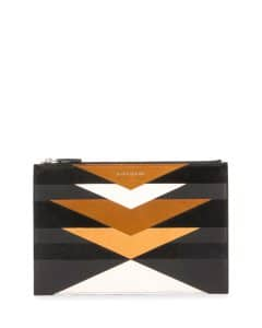 Givenchy Multicolor Geometric Pattern Medium Pandora Pouch Bag