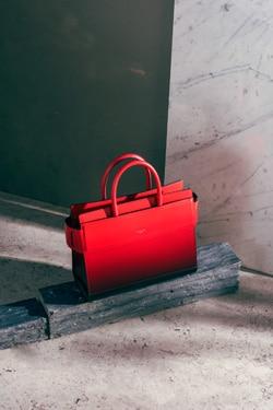 Givenchy Red Small Horizon Bag
