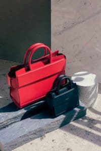 Givenchy Red and Black Medium and Nano Horizon Bags