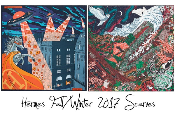 Hermes Fall/Winter 2017 Scarves Reference Guide | Spotted ...