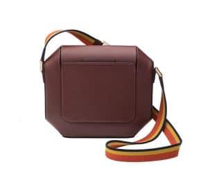 Hermes Rouge H Octogone 23 Bag