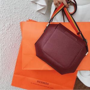 Hermes Rouge H Octogone Bag 2