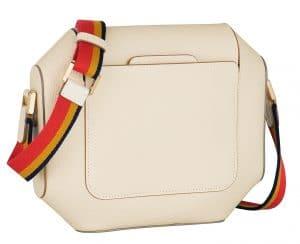 Hermes White Octogone 23 Bag