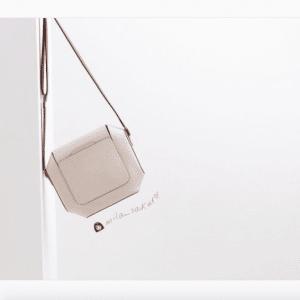 Hermes White Octogone Bag