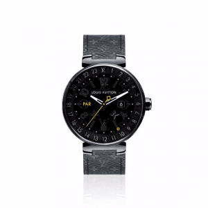 Louis Vuitton Tambour Horizon Black 42 (2)