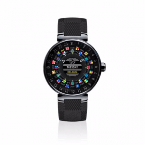 Louis Vuitton Tambour Horizon Black 42