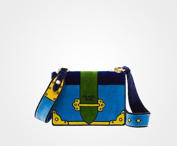 a427de9feaac Prada Fall Winter 2017 Bag Collection Includes Velvet Bags