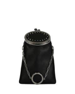 Valentino Black Soft Secrets Vanity Bag